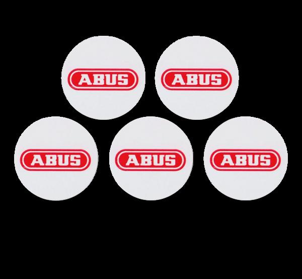 ABUS Smartvest Proximity-Chip-Sticker 5er Set zur Klebemontage
