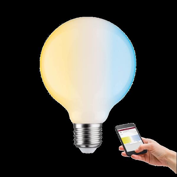 ZigBee LED Leuchtmittel mit Weißlichtsteuerung matt 7 Watt