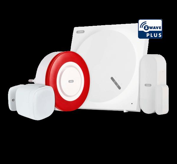 ABUS Z-Wave Einbruchsschutz-Set | Gateway, Sirene, Multisensor, Türkontakt
