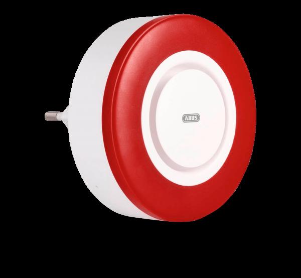 Z-Wave Innensirene mit 95 dB Alarm, integriertem Akku und Repeaterfunktion
