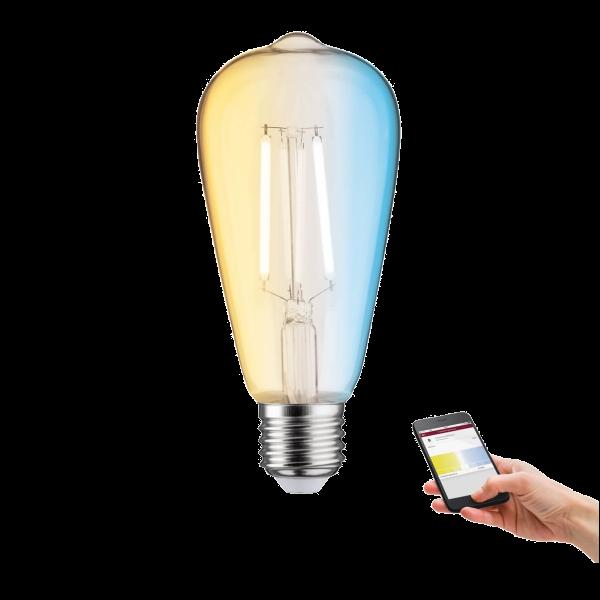ZigBee E27 LED Leuchtmittel mit Weißlichtsteuerung 7 Watt