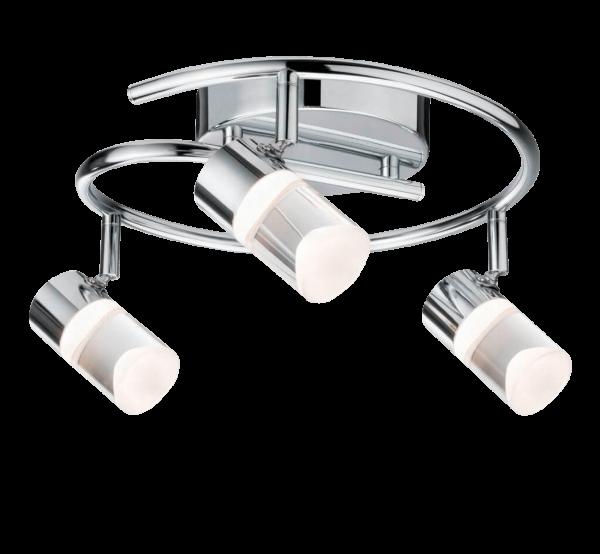 Zala Spot dreiflammig SmartHome ZigBee LED 3 x 6 W Chrom