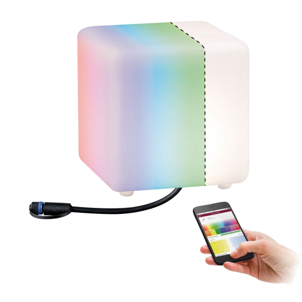 ZigBee Plug & Shine Lichtobjekt Cube Würfel