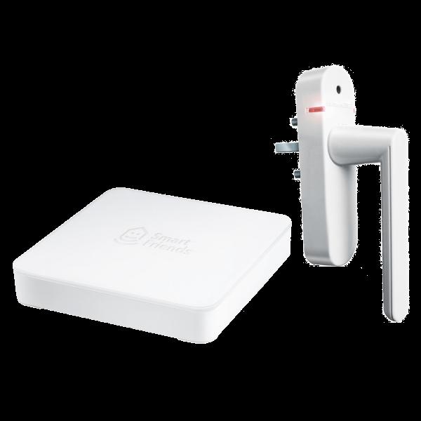 Starterset Box inklusive Funk-Alarmgriff weiß | mehr Sicherheit
