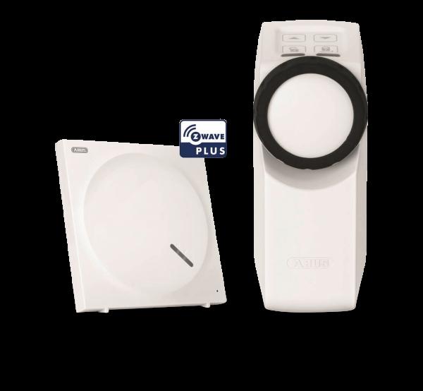 ABUS Z-Wave Türschlossantrieb HomeTecPro inklusive Smart Home Zentrale